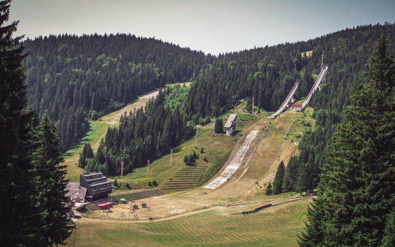 Sarajevo Ski Jumping HIlls