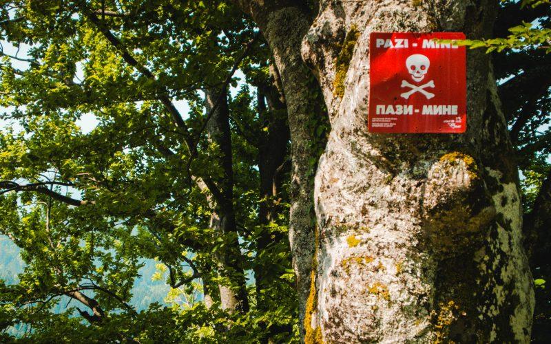 Sarajevo Mine danger