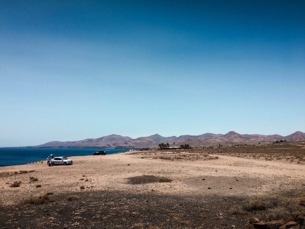 Volcanic view Lanzarote