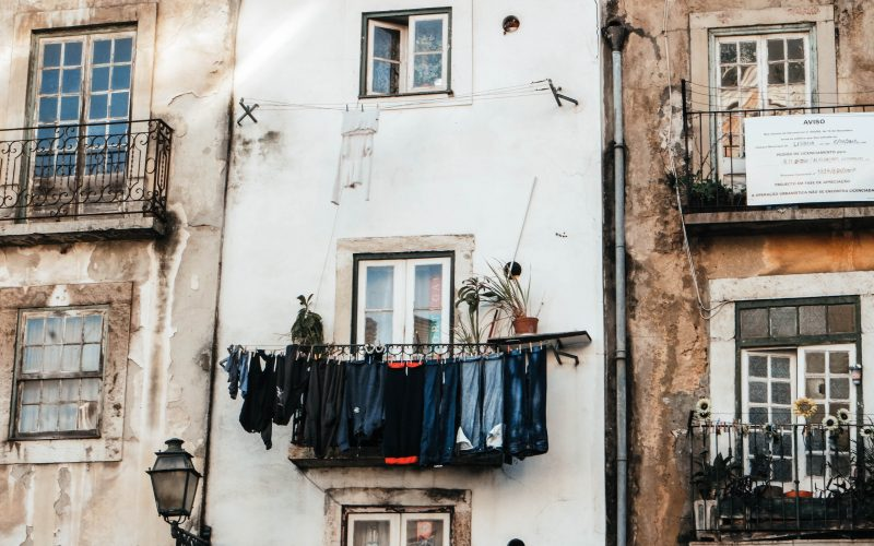 Laundry in Alfama, Lisbon