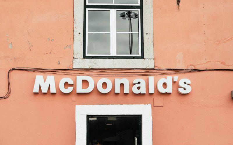Pink McDonalds in Belem, Lisbon