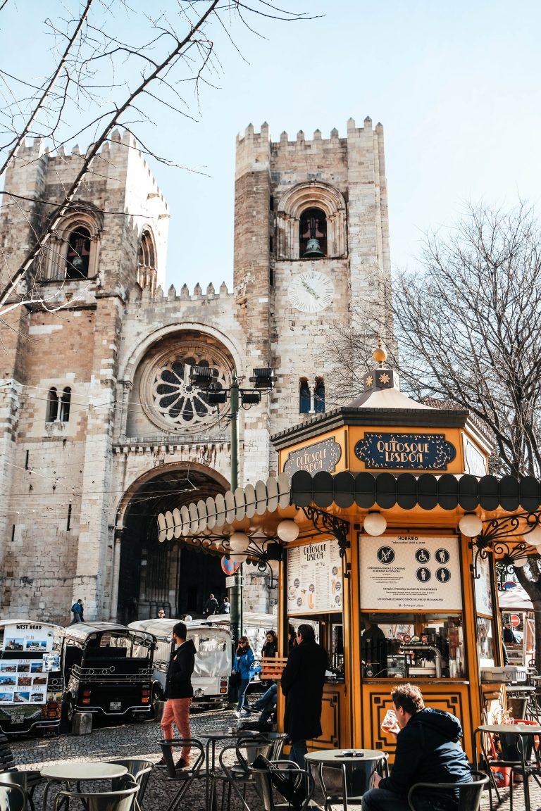 Se Cathedral in Alfama, Lisbon