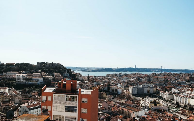 Lady of the Hill, Viewpoint in Lisbon