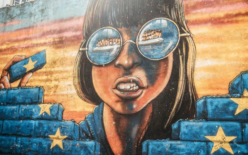 Street art in Mouraria, Lisbon