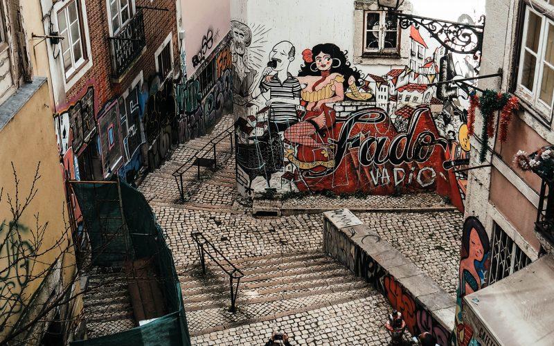 Fado Painting, Lisbon