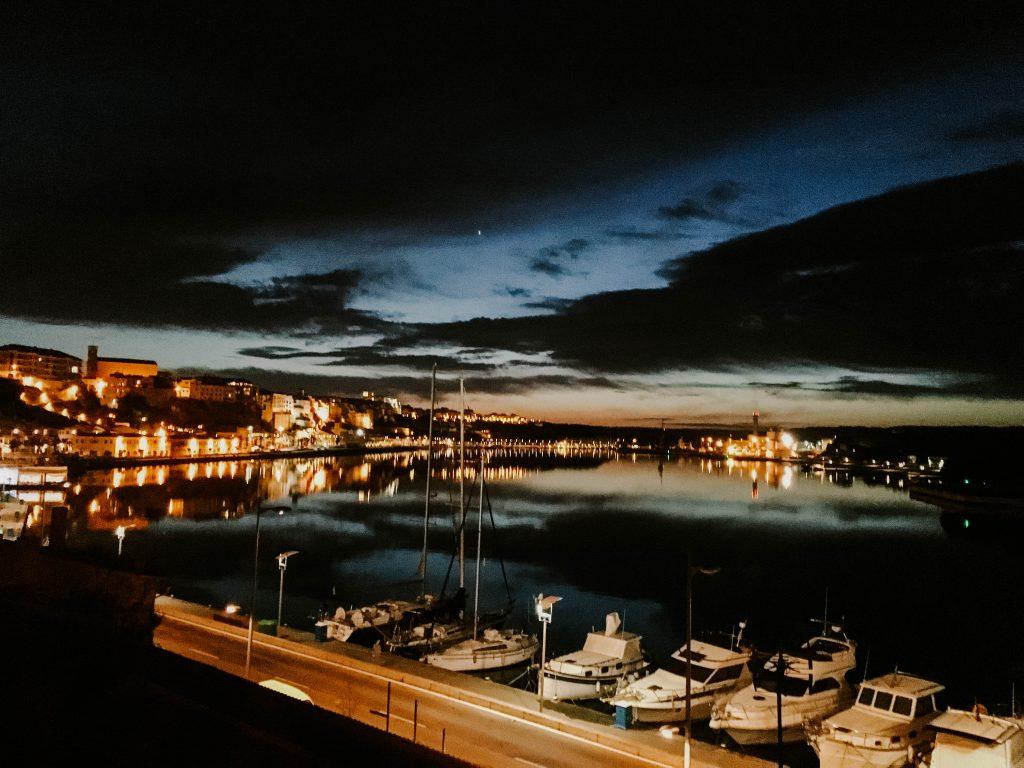 Mahon Harbour, Menorca, Spain