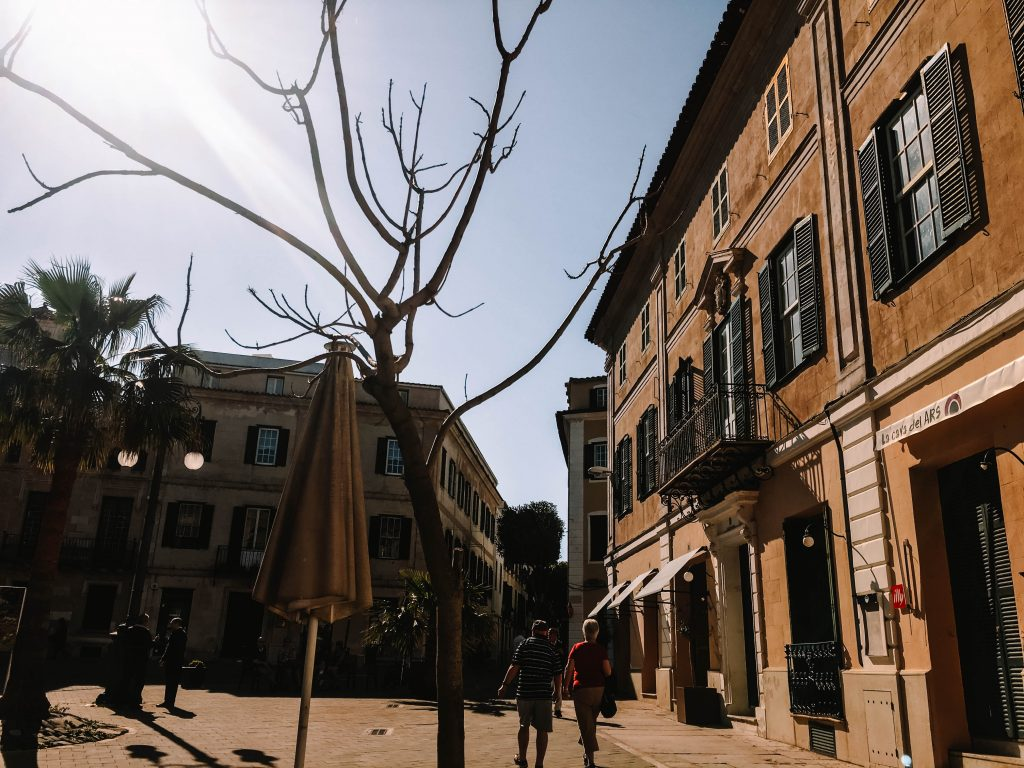 Mahon Old Town, Menorca
