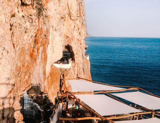 Cava den Xoroi, Menorca, Spain, Cave Bar