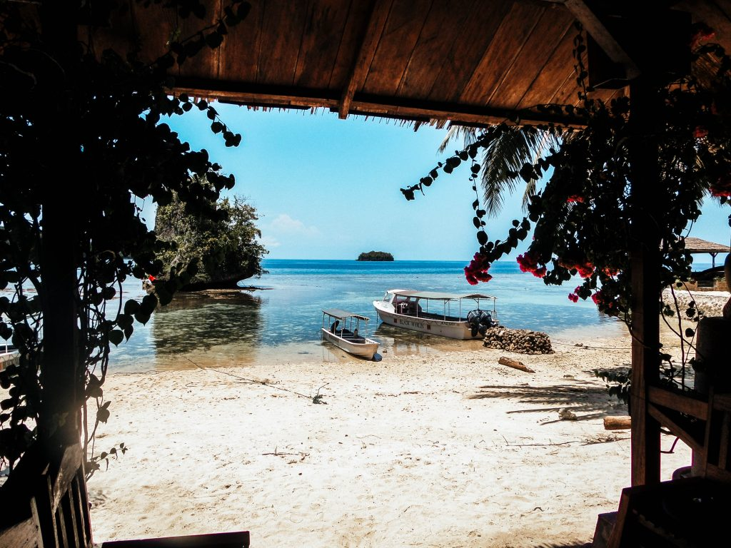 View from Black Marlin, Togean Islands, Sulawesi