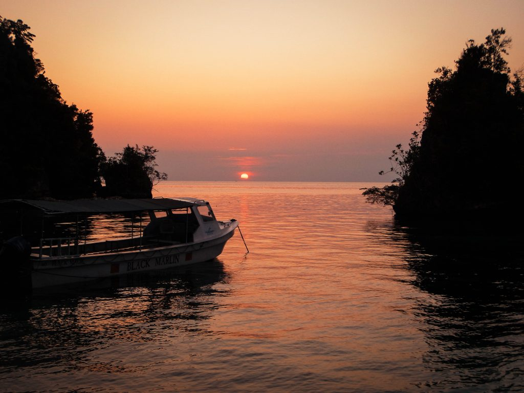 Togean Islands Sunset, Sulawesi