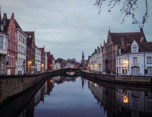 Canals, Bruges