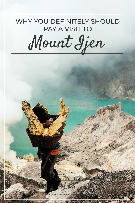 Climbing Mount Ijen