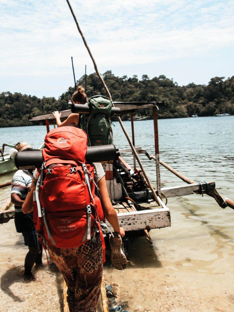 Sempu Island, Pantai Sendang Biru. Indonesia