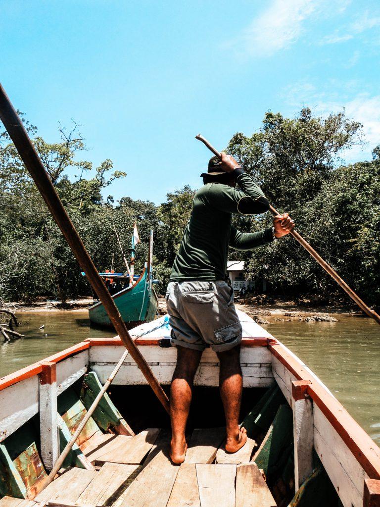 Sempu Island Boat, Indonesia