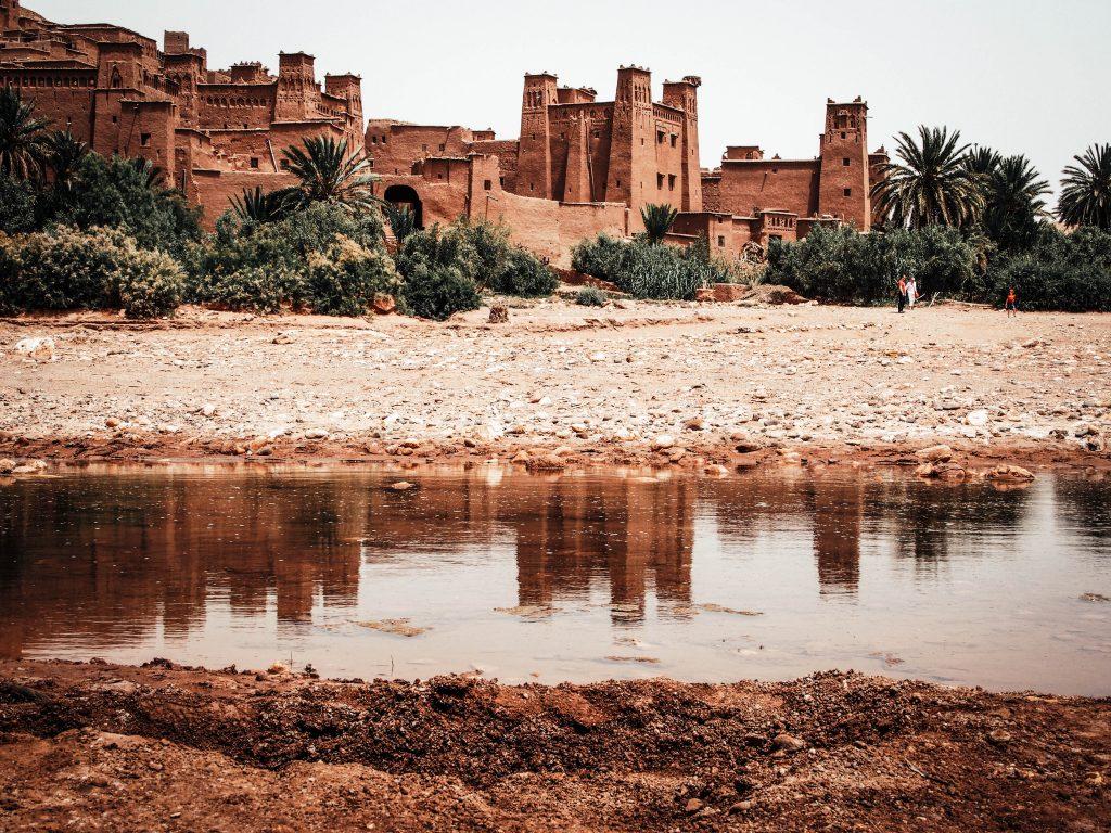 Ait ben Haddou Reflection, Morocco