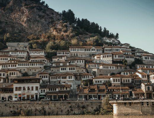 Berat, city of a thousand windows, Albania