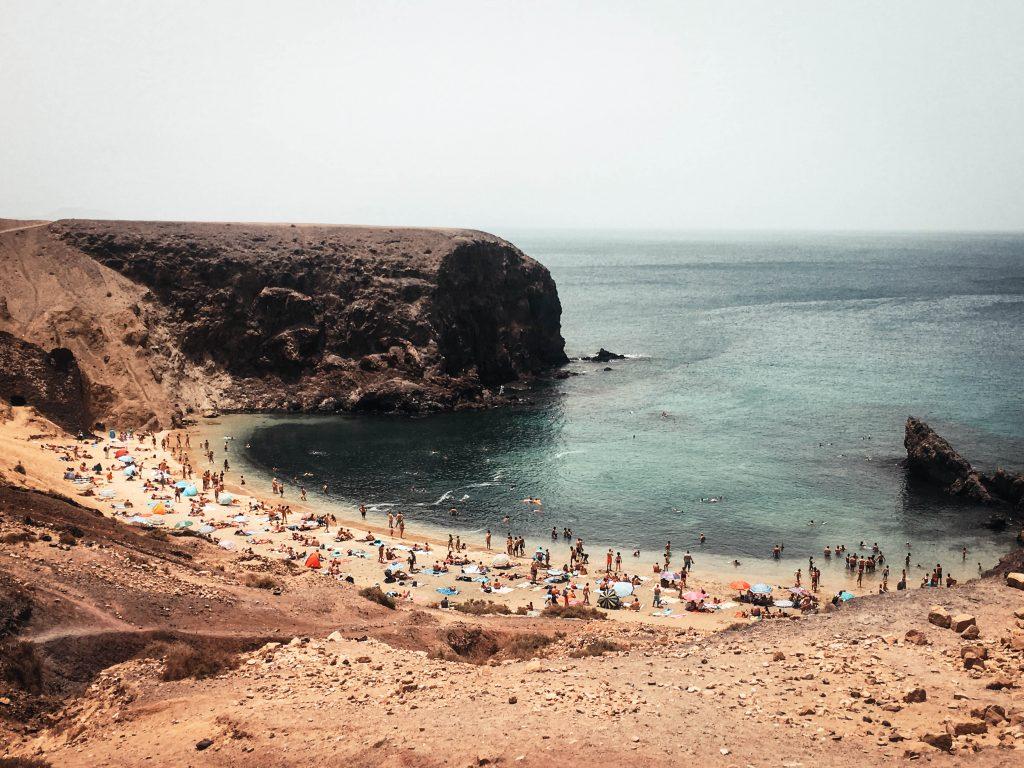 Playa Papagayo, Lanzarote