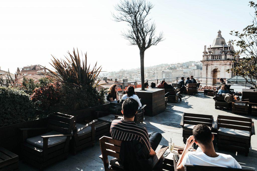 Park Rooftop Bar, Lisbon