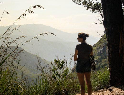 Climbing Ella Rock, Sri Lanka
