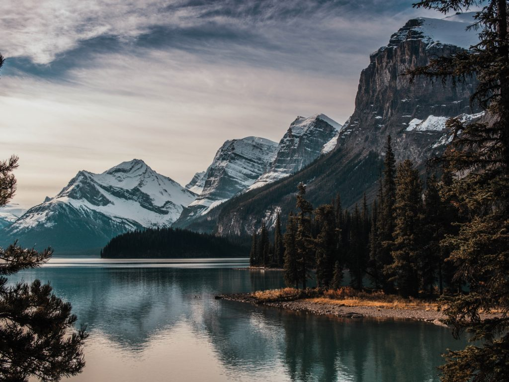 Spirit Island, Jasper, Canada