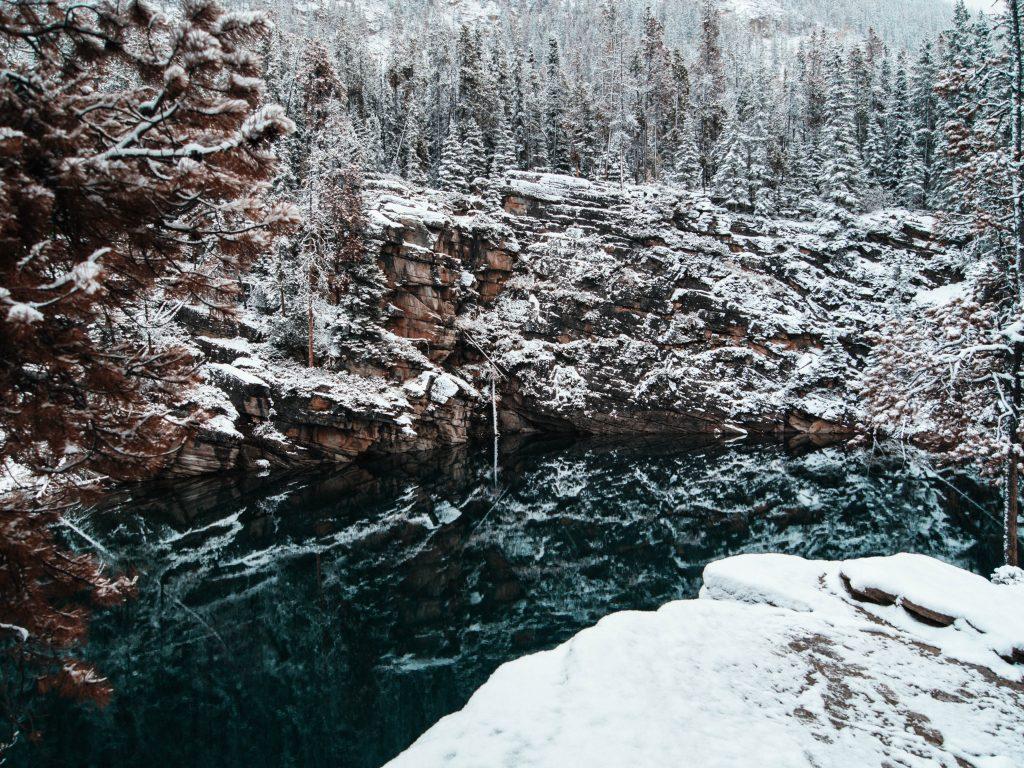 Horseshoe Lake, Jasper, Canada