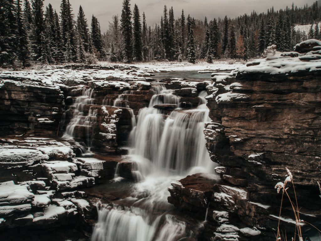 Athabasca Falls, Canada,