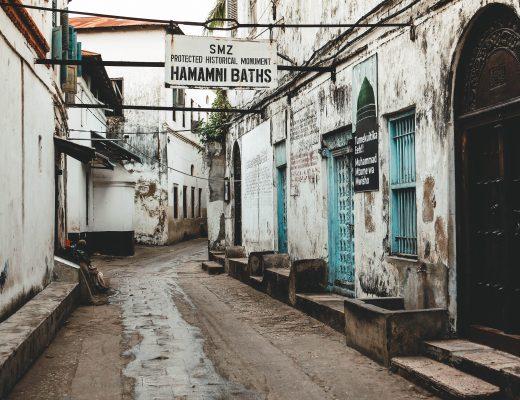 Hammam baths in Stonetown