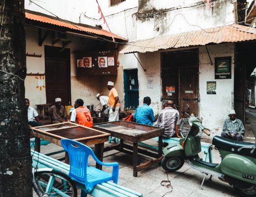 Jaws Corner, Stonetown, Zanzibar