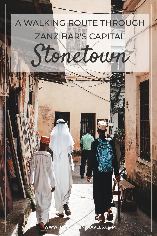 Walking Route Tour, Stonetown