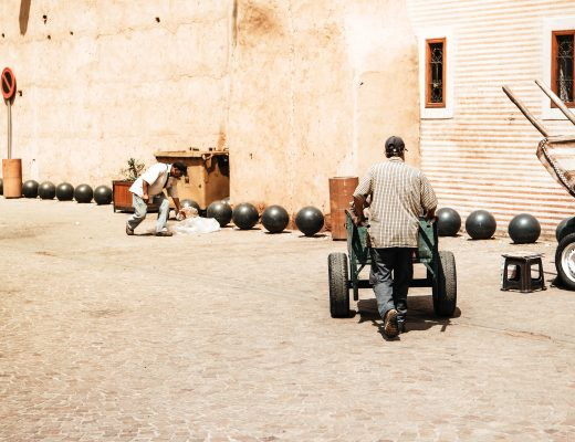 Life on the streets in Marrakech