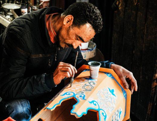 Craftwork in Marrakech