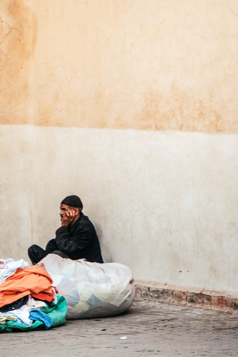 Street photography in Marrakech