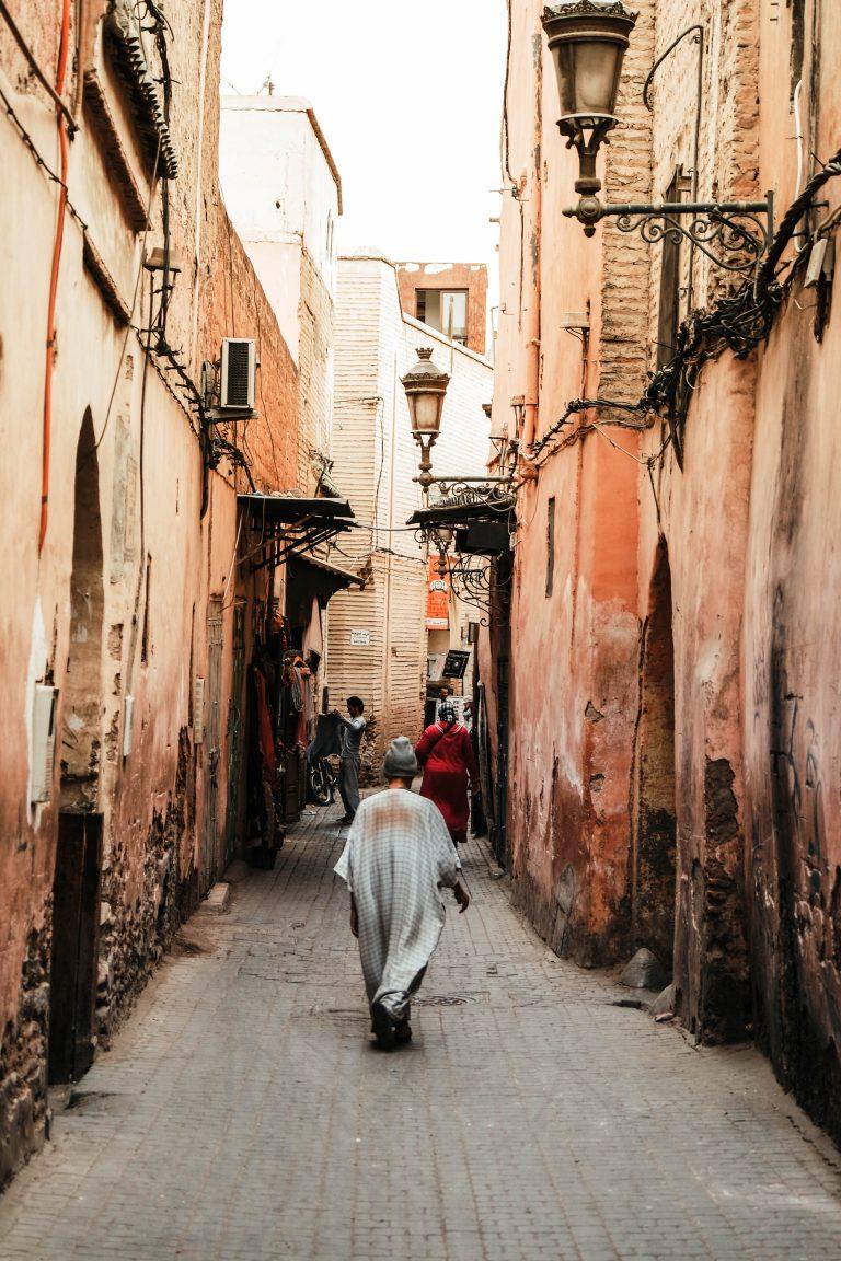 Wander the alleys in Marrakech