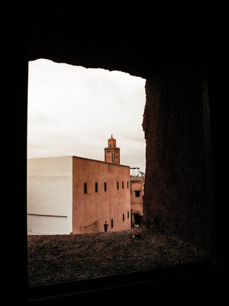 View on the Koutoubia Mosk in Marrakech