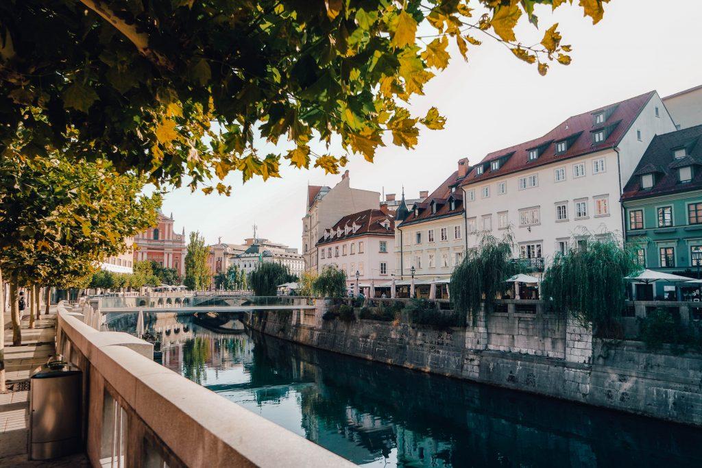 Ljuljana City Guide Canals