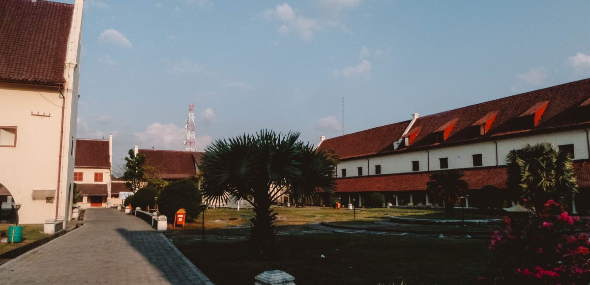 Fort Rotterdam in Makassar, Indonesia