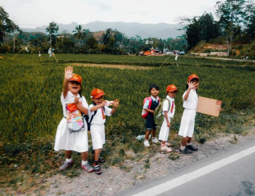 Local Children in Sulawesi