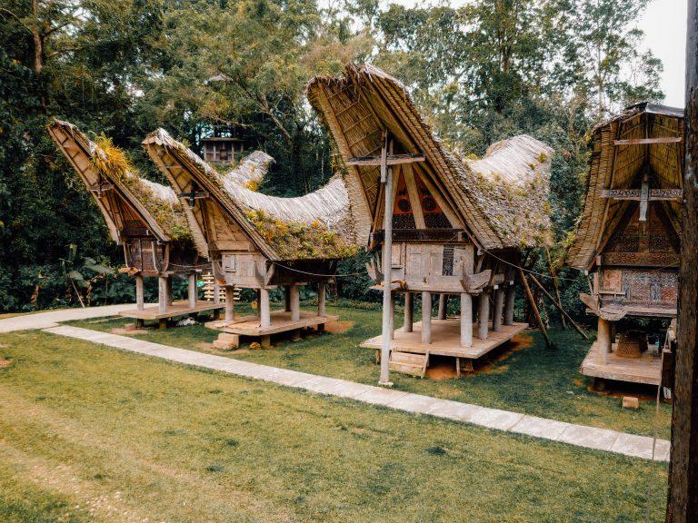 Tongkonan houses, Tana Toraja, Sulawesi