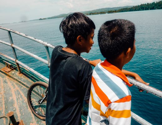 Boatride to the Togean Islands from Ampana - Sulawesi