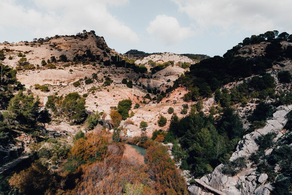 Hiking views in Andalusia