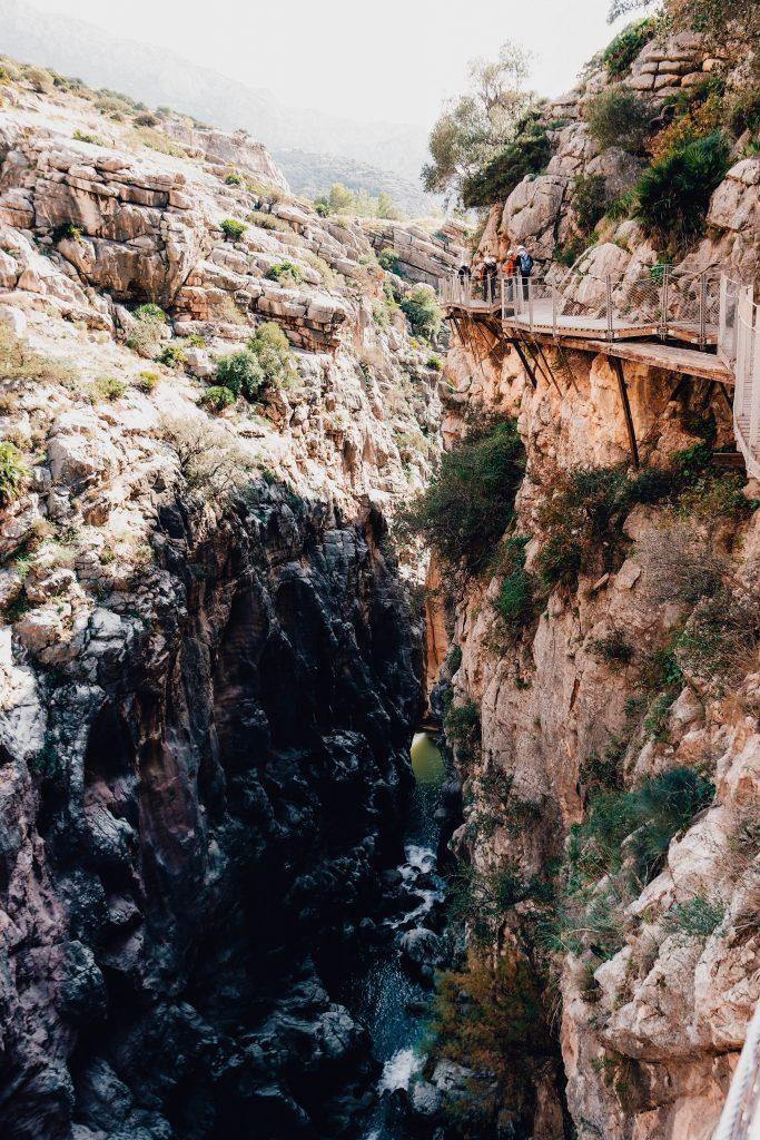 Boardwalk in Andalusia