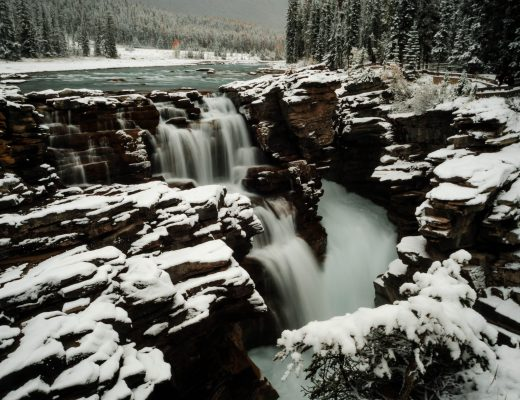 Athabasca Falls, Icefields Parkway, Canada