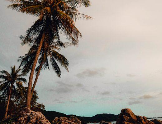 Sunset Beach in Karimunjawa, Java