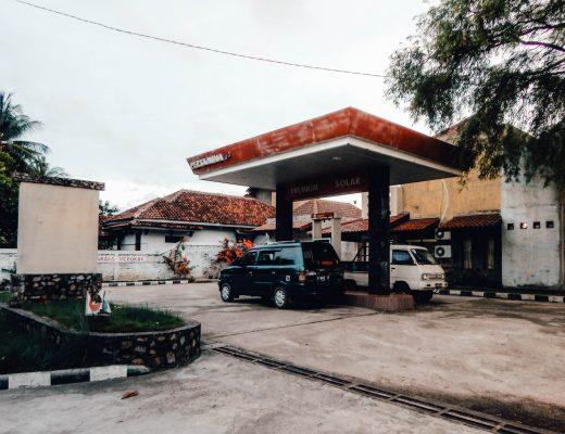 Gas station on Karimunjawa