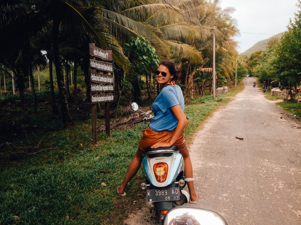 Renting a scooter in Karimunjawa