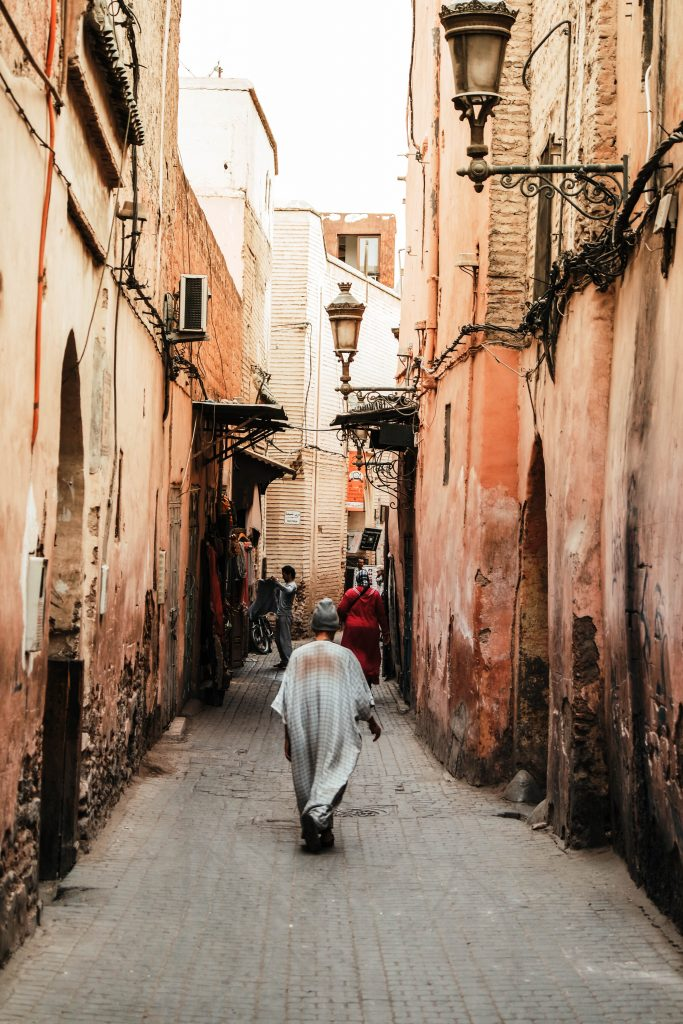 Little alleys in this Marrakech City Guide