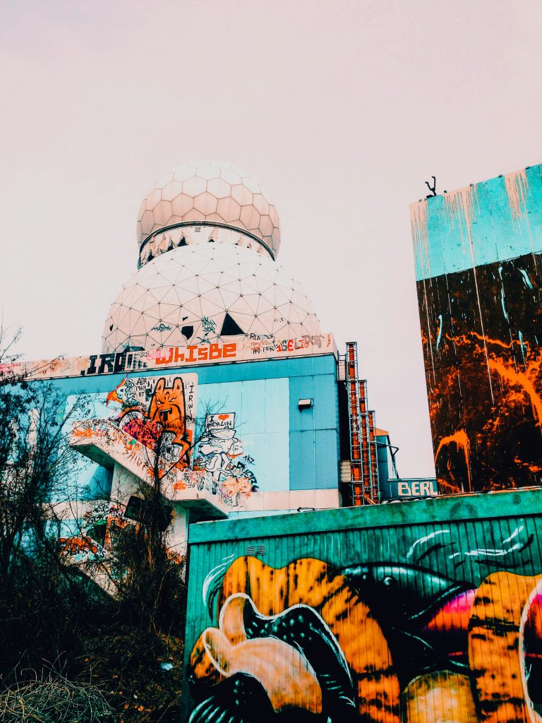 Alternative Guide to Berlin - Teufelsberg - Old Spy station