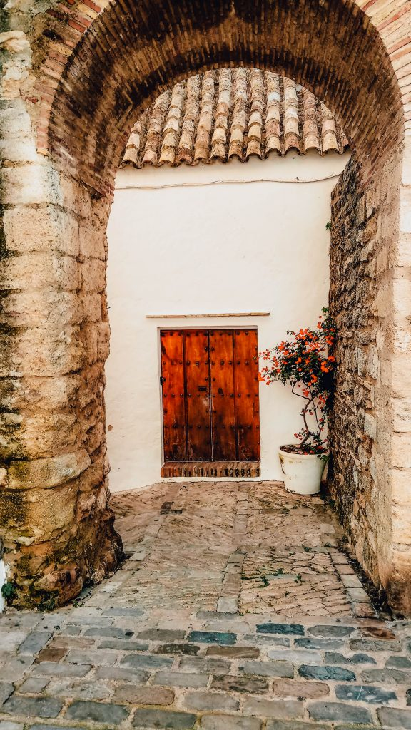 Doors in Vejer de la Frontera, Spain
