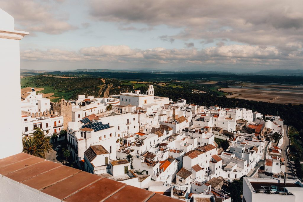 Views from La Botica de Vejer, Vejer de la Frontera