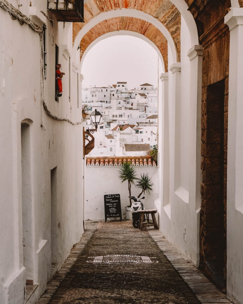 Vejer de la Frontera, Arch of the Monjas, Spain